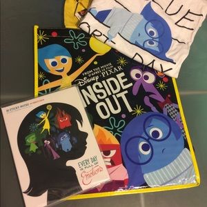 Disney Tops - Disney Pixar Inside Out Swag Bundle